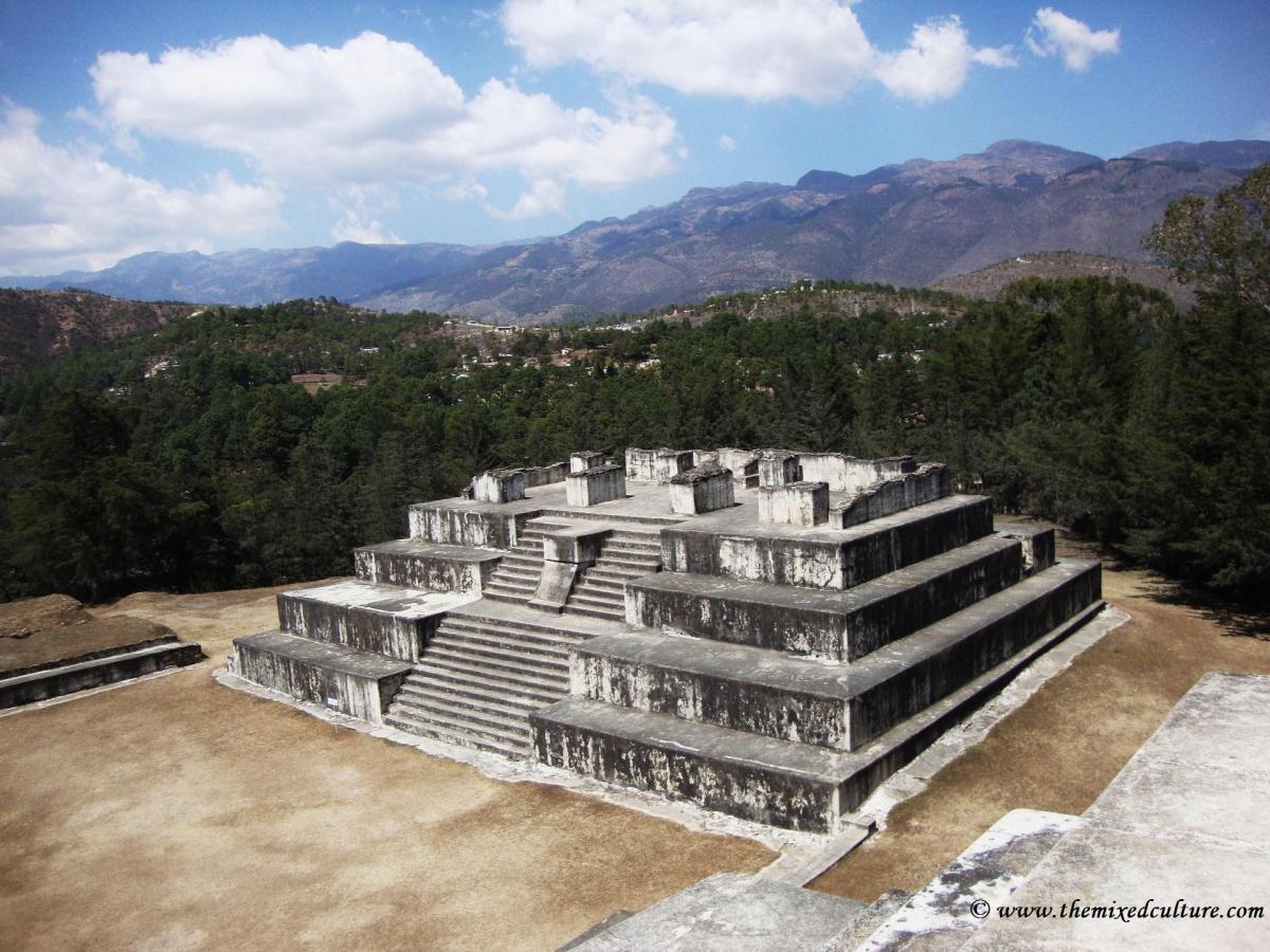 The Zaculeu Ruins
