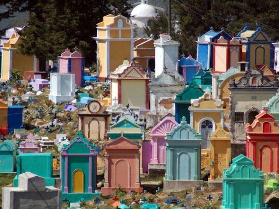 Cemetery in Chichicastenango, Guatemala