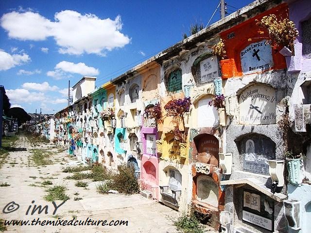 Cemetery in Quetzaltenango (Xela), Guatemala