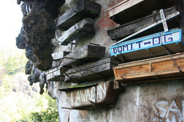 Hanging Coffins Sagada Philippines