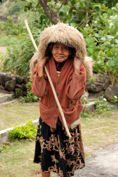 Batanes Ivatan woman