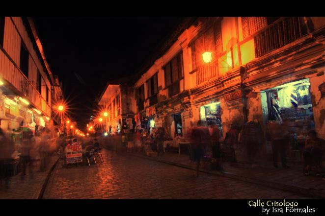 Calle Crisologo Vigan Ilocos Sur