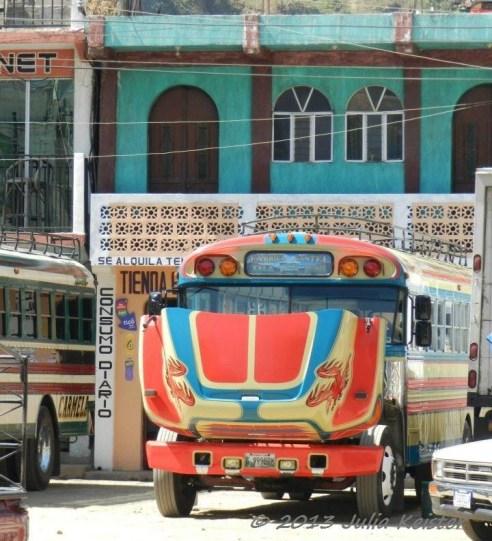 Chicken Bus of Guatemala