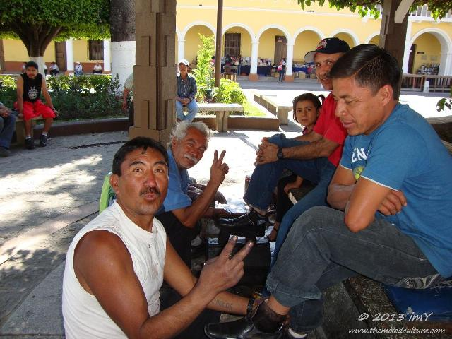 Shoeshine in Guatemala