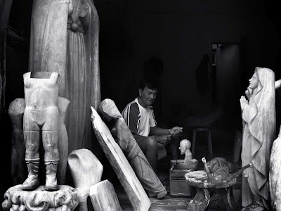 Woodcarving of Paete
