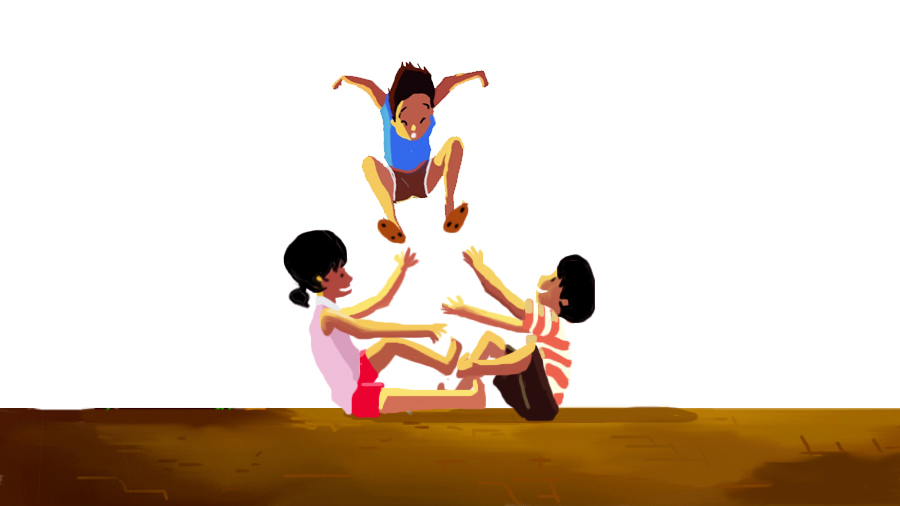 Traditional Filipino Games: Luksong tinik