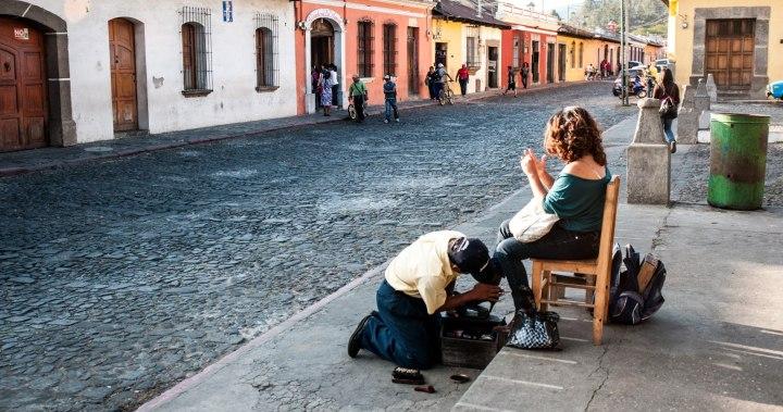 Lustrador, Antigua, Guatemala