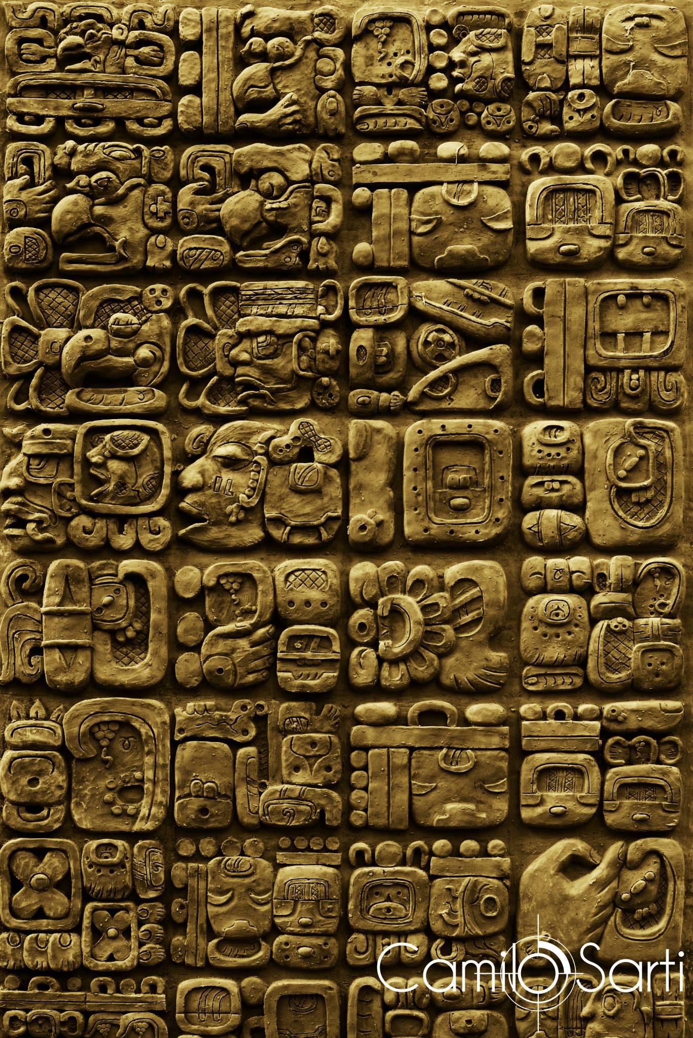 Mayan writing translation