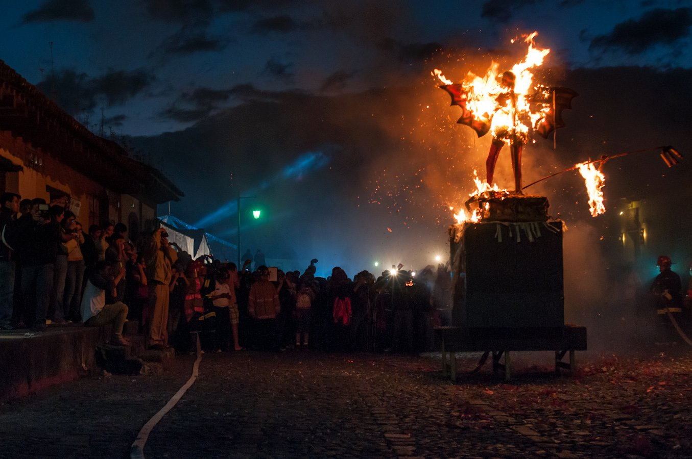 The Tradition Of Burning The Devil In Guatemala The