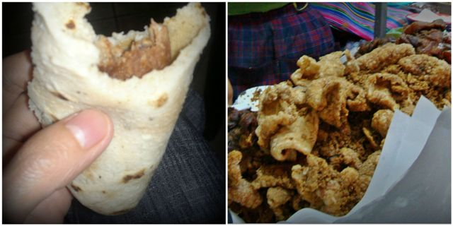 Chicharrón, Guatemalan food