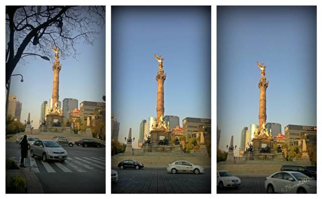 Mexico City, El Angel de la Independencia, travel Mexico